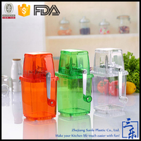 Family Use Plastic ice crusher manual