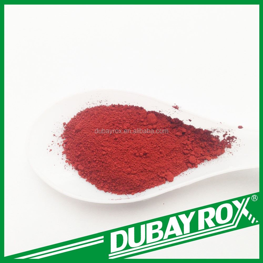 325 Mesh Iron Oxide Red Inorganic Pigment Mulch for Garden