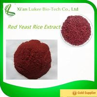 Free samples bulk wholesale 1% lovastatin red yeast rice extract