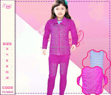 Wholesale kids new winter printed pajamas 2014 , Model FG 5900