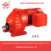 GR Series SEW Eurodrive Coaxial Helical Foot Mounting parallel shaft gear motor