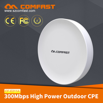 COMFAST CF-E211A 2017 Hot Sale 300Mbps WIFI Transmission Bridge Outdoor Wireless CPE CF-E211A