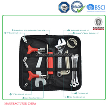 2017 Article No.TC10 bicycle repair tools in folding bag kit bike crankset tool