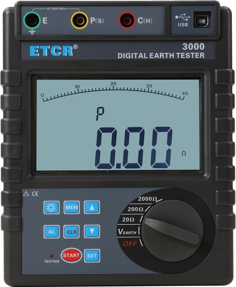 Harga Dan Spesifikasi Digital Earth Tester Terbaru 2018 Kyoritsu 4300 Etcr3000 Ground Resistance Meter Buy Testergroung Testerearth
