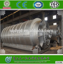 used rubber tires recycling machines /used tyres rubber oil plant with New Pyrolysis Technology