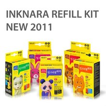 INKNARA Refill Kit [NEW 2012] Compatible for HP CANON INK