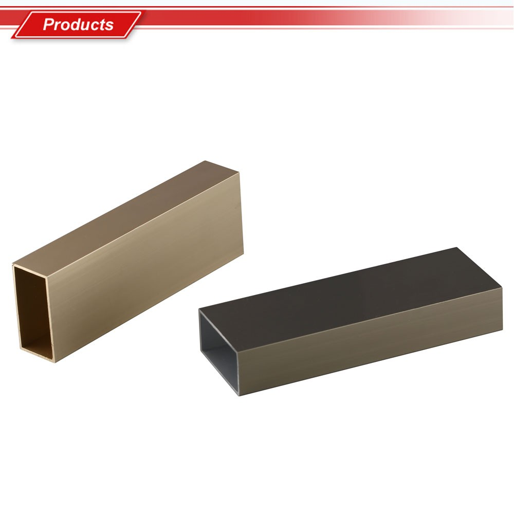 20x40 aluminium alloy flat profile and beam