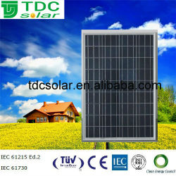75W China Best PV Supplier solar panel sunlink pv