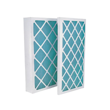 paper frame fiberglss pleated AC Furnace Air Filter