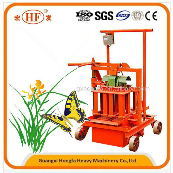 QMJ2-45 concrete cement construction curb block machinery