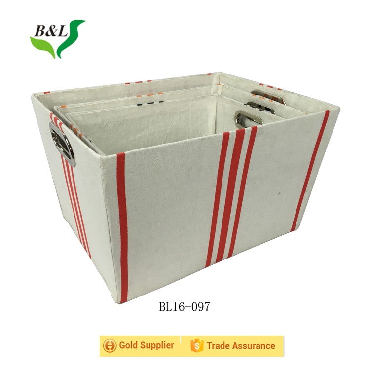 Canvas Storage Bin/Storage Basket/Storage Box