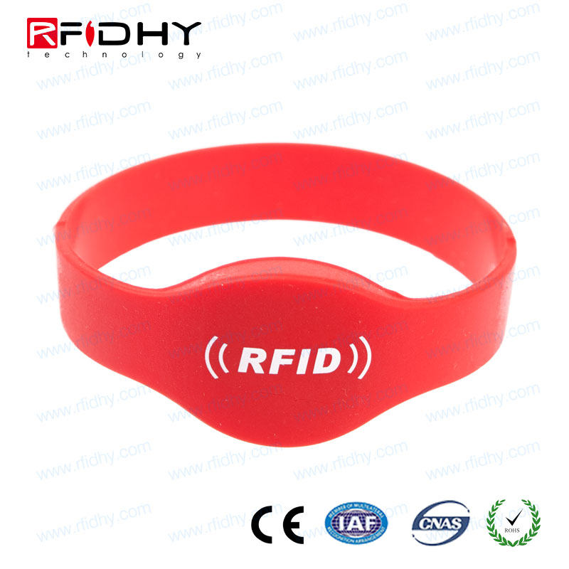 Custom Style Holographic Rfid Smart Wristband For promoting Party