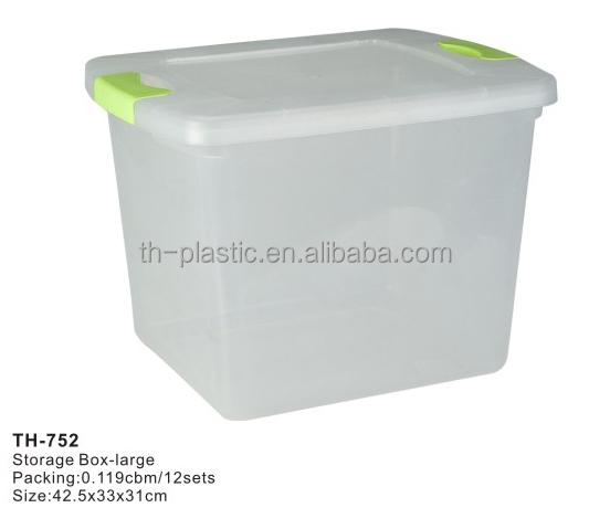 Caja de almacenamiento de pl stico productos de pl stico - Cajas de plastico ikea ...