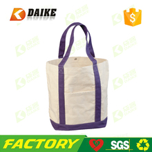Factory manufacture Promotional Heavy Cotton Canvas Tote Bag