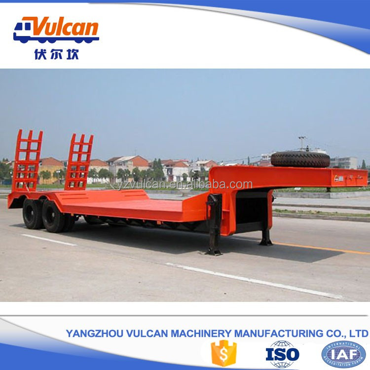 Manufacturer customized low bed truck trailer dimensions