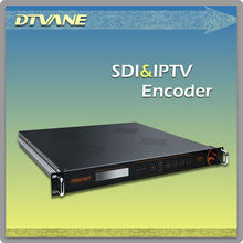 DMB-9330 High quality SDI encoder for Digital TV IPTV headend system MPEG-2 SD encoding ASI and IP output