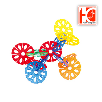 kids toys flower construction building blocks bulk toy with cheap