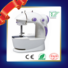 Creative home appliance 4 in 1 Household Portable 2 speeds Battery or Plugged Mini Sewing Machine