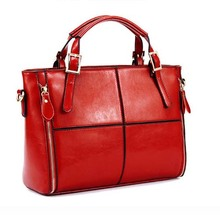 BYI1002 wholesale fashion genuine leather handbag 2014 new spring and summer leather handbag for women