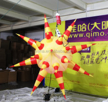 Nice design colorful decoration inflatable star for events/commercial resturant