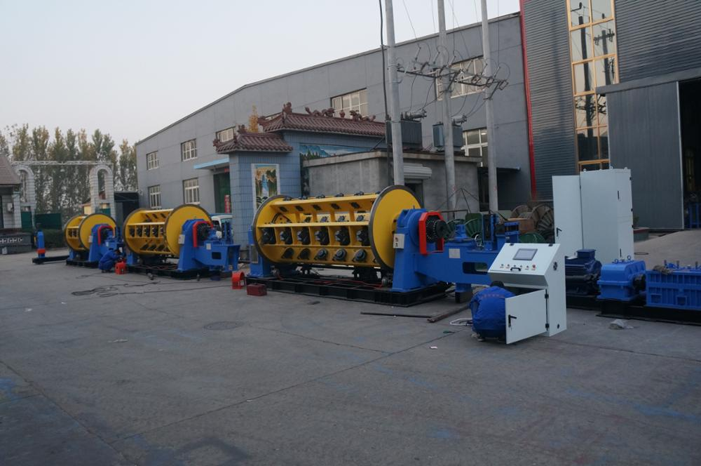Cable wire making machine for stranding Aluminum / copper