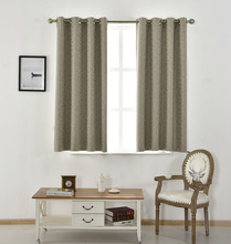 ALLBRIGHT high quality fabric double layer ch double layer cheap blackout curtain for hotel window