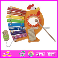 2015 new wooden toy xylophone,popular wooden xylophone toy,high quality wooden toy xylophone W07C001-3