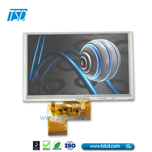 800x480 dots 5 inch lcd display module tft screen with resistive touch panel