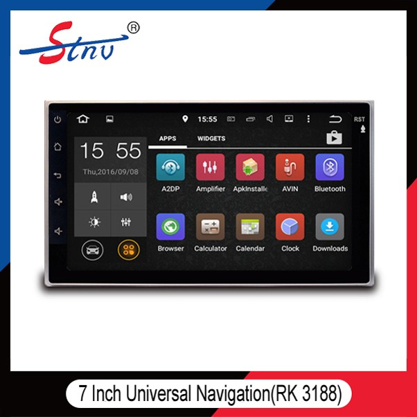 "Android 5.1 7"" touch screen car dvd player head Unit Multimedia auto system upgrade Mirror Link Car Stereo"