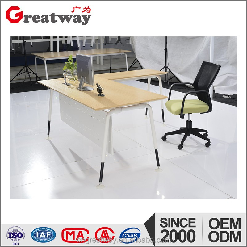 Modern design general used school office computer table models with low prices