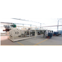 Full servo automatic merries baby diaper nappy production line