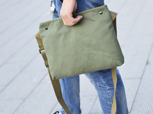 Casual Style Canvas Messenger Bag Yellow Shoulder Bag Since 1997