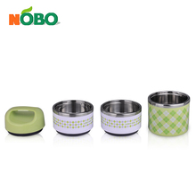 Japanese style eco-friendly stainless steel student lunch box mini box