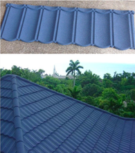 Building Material Lightweight Waviness Stone Coated Roofing Tile