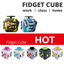 wholesale 3D magic full color Fidget Cube with high quality