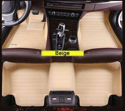 New Design Right Hand Drive Car Mat Hotsale Antislip 5D Leather Material Car Carpet