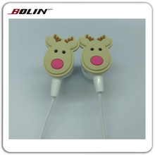 Cheap high quality Cartoon Earphones for MP3, Mp4, laptop Computer