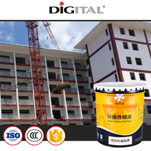 Washing resistance stain resistance pure acrylic emulsion exterior wall paint
