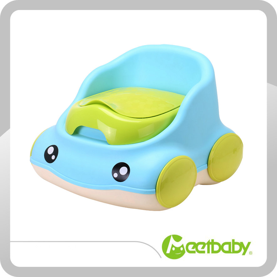 New Cartoon Car Baby Toilet Baby Urinal Baby Potties Plastic Portable Children Seat Training Toilet Potty Training Boys Girls