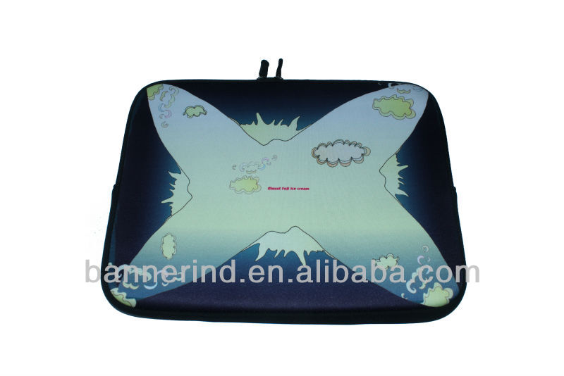 High Quality Portable Cheap anti-shock and waterproof neoprene laptop sleeve