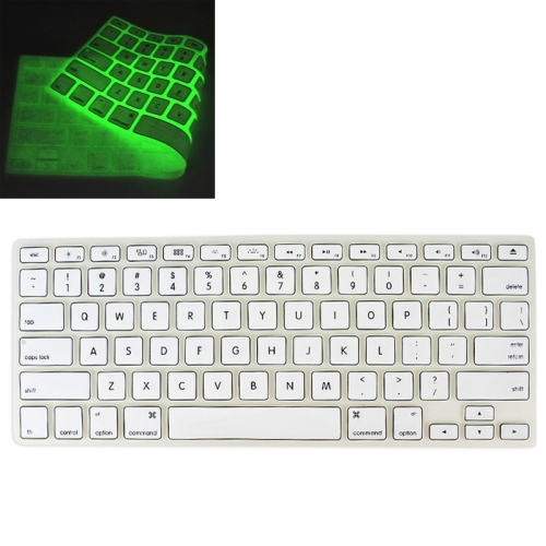 Universal Night Light Silicon Soft Keyboard Protector Cover Skin Protective Film for MacBook 13.3 inch & 15.4 inch