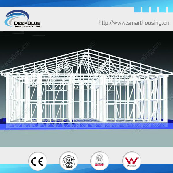 light steel frame kit home