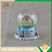 SGC717 Customized China Resin Water Globe Crafts Wholesale Of Souvenir