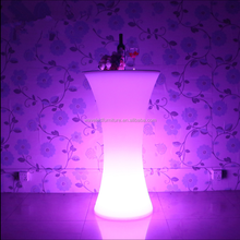 Wholesale event flashing light up party cocktail table high top led cocktail tables