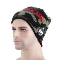 High quality Sound Music Audio Winter Beanie Hat with Headphones