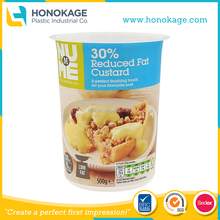 Great Taste low fat cheese container,IML Reduced fat custard container,cheese slice container