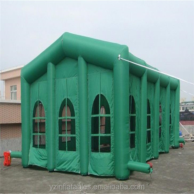 Customized Giant Green Inflatable Tent/Inflatable Party House