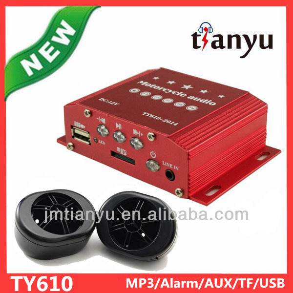 jiangmen tianyu electronics co.,ltd DC12V motorcycle audio chopper gadget