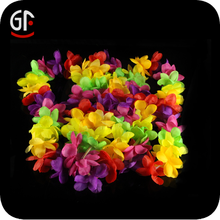 China Graduation Favors Led Glowing Unique Hawaiian Flower Lei Garland