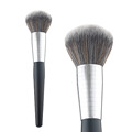 Professional powder brushes, custom logo makeup brushes, shiny black wooden handle brushes, private logo accepted